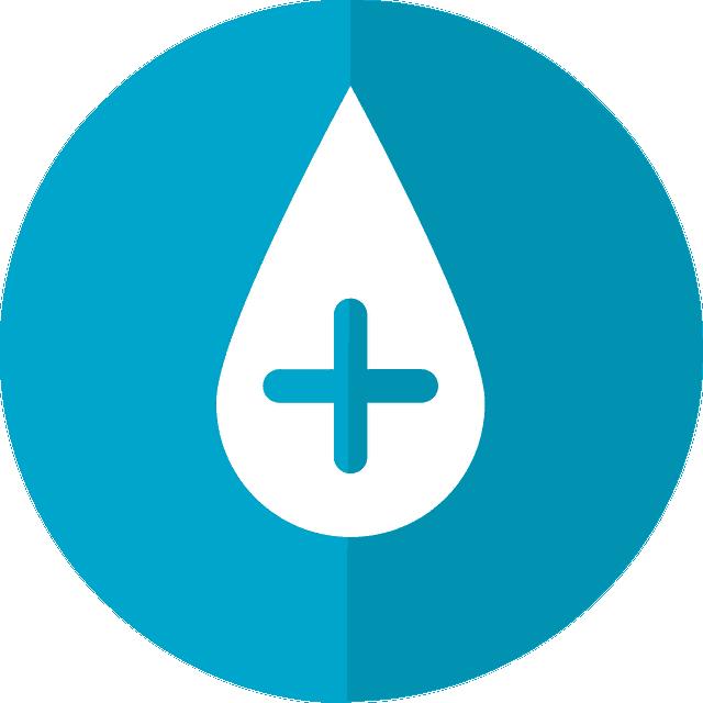 Kropla krwi logo